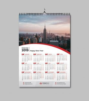 Finely Finished Wall Calendars