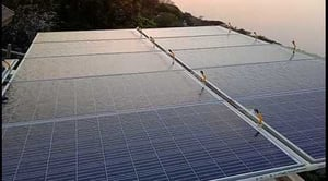Solar Panels Cleaning System