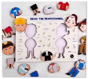 Dress the Professional Puzzle Grame