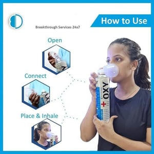 Medical Portable Oxygen Can