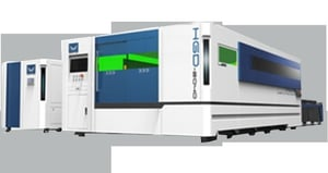 Fiber Laser Cutting Machine With Exchange Table