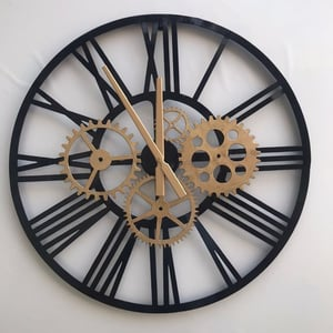 Handcrafted Decorative Iron Wall Clock