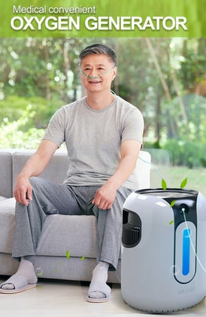 High Purity Low Noise Oxygen Generator Concentrator