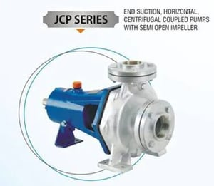 Centrifugal Water Pump With Semi Open Impeller