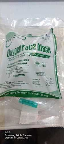 Oxygen Mask for Hospital and Personal Use