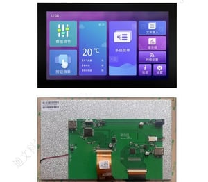 DWIN 10.1 Inch TFT LCD Module Display 1024*600 For Raspberry Pi With Capacitive Touch Panel