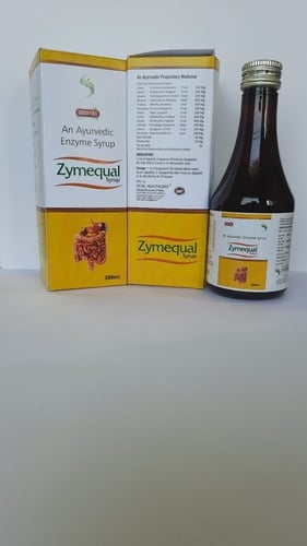 Zymequal Ayurvedic Enzyme Syrup 200ml