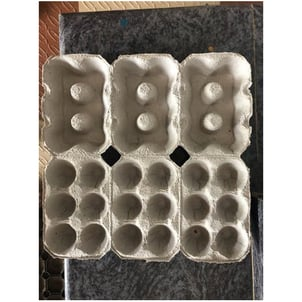 6 Pieces Per Pack Egg Tray