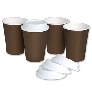 Paper Disposable Coffee and Tea Ripple Cup for Hot & Cold Beverage