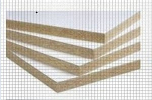Brown Laminated Particle Board