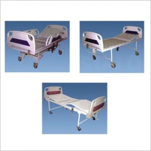 Foldable and Adjustable Hospital Bed