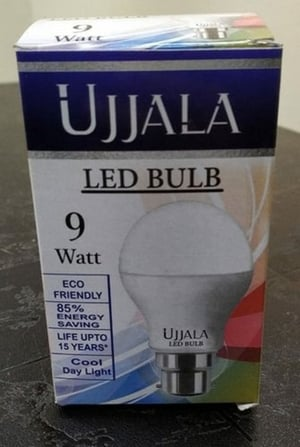 Printed LED Round Bulb Packaging Paper Box
