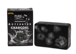 100% Pure Activated Charcoal Soap
