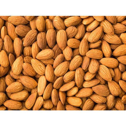 Brown Healthy And Natural Organic Almond Nuts