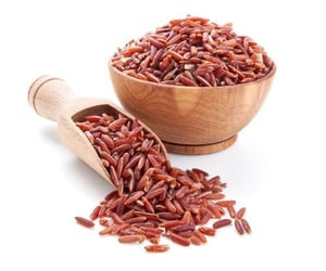 Healthy and Natural Red Raw Rice
