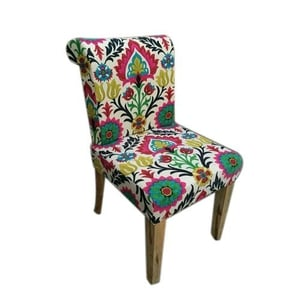 Printed Wing Wooden Chair