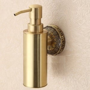 Easy To Use Brass Soap Dispensers