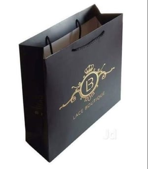 Laminated Paper Bags With Fancy Handles