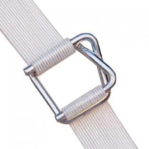 Polyester White Packaging Strap