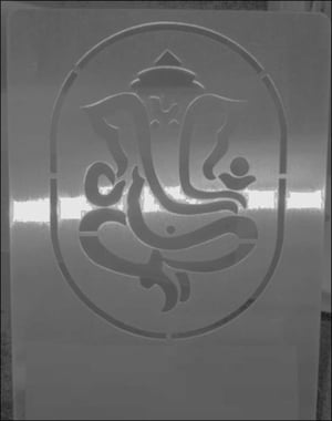 Stainless Steel Etched Sheet