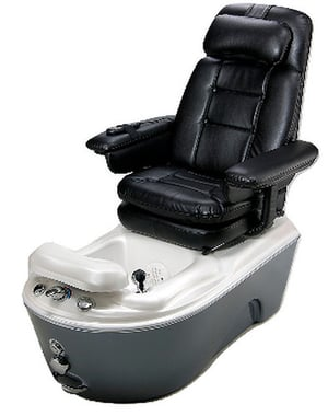 Adjustable Foot Rest Anzio Pedicure Chairs
