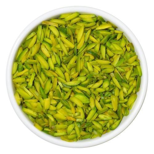 Fresh Organic Green Raw Pistachio (Pista) Slices