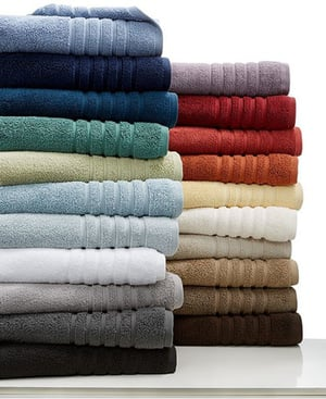 100% Cotton Plain Colored Dyed Terry Hotel Bathroom Bath Towels