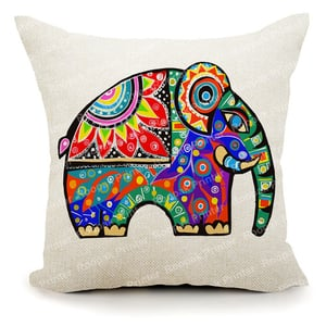 Digitally Printed Polyester Jute Cushion Covers