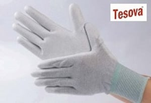 ESD PU Coated Top Fit, Palm Fit, Top and Palm Fit Gloves