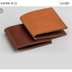 Dark and Light Brown Leather Wallets