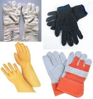 Full Finger Gloves (Asbestos, Cotton, Electrical, Leather)