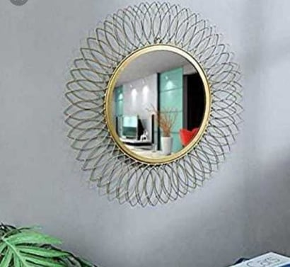 """Attractive Design Wall Mirror Glass Thickness: 1 """" Inch"""