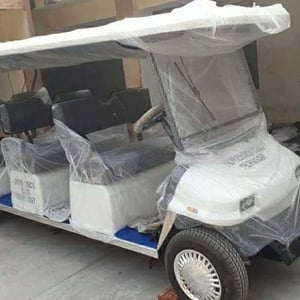 Smoothly Drive Electric Golf Cart