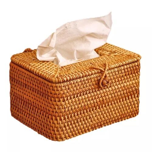Rattan Tissue Napkin Box