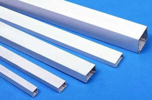 Round PVC Electrical Trunking