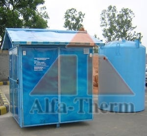Stainless Steel Bio Digester with Shelters