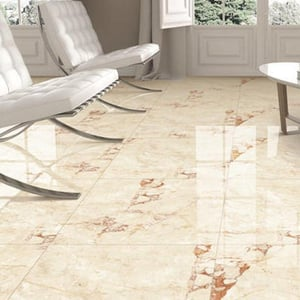 Mirror Polished Double Charged Vitrified Floor Tile