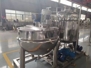 Jacket Cooker with High Speed Shearing