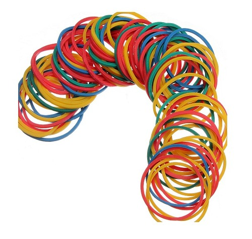 Rubber Band With Various Colors