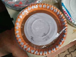 Color Coated Paper Plates