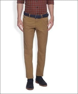 Mens Stretch Twill Trousers