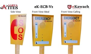 Emergency Call Box For Highway