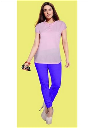 Ladies Casual Wear Polyester Top