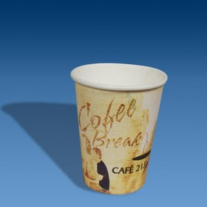 Disposable Printed Paper Hot Coffee Cups