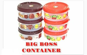 Big Boss Printed Plastic Container