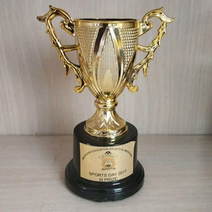 Metal Trophy For Sports