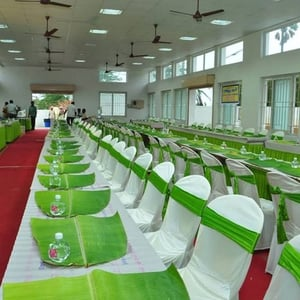 Traditional Wedding Chair Cloth Covers