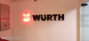 Acrylic Letters With LED And SS Base