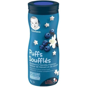 Gerber Baby Puffs For 8 Plus Months