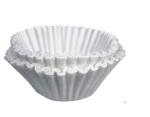 White Color Coffee Filter